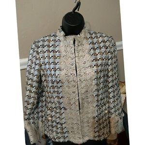 Dolce & Gabbanna Tweed look & Lace Blazer Blazer